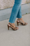 Mother Mid Rise Dazzler Ankle Fray ankle view