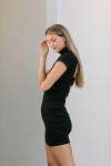 Susana Monaco Mock Mini Dress Side View