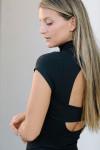Susana Monaco Mock Mini Dress Side detail view