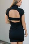 Susana Monaco Mock Mini Dress Back View