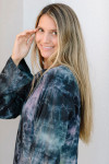 Raquel Allegra Phoebe Dress Model View