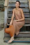 RACHEL PALLY Hemp Rib Van Dress Sitting View