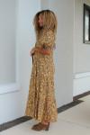 Saylor Kirstin Smock Tiered Maxi Dress Side View