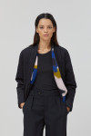 Closed Britt Quilted Belted Reversible Jacket