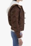 Mother Puffer Hoodie Jacket