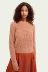 Scotch & Soda Loose Fit Puff Sleeve Sweater