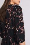 BA&SH Mosiris V-Neck Midi Dress