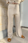 RD Style Ribbed Cardigan Pant Set Front View pants