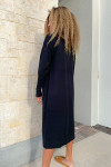 RD Style Long Duster Cardigan Back View