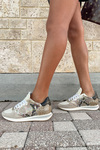 Philippe Model Prsx Python Mixage Low Sneaker Side View