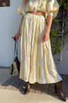 SWF Sweetner Maxi Skirt in Golden Hour