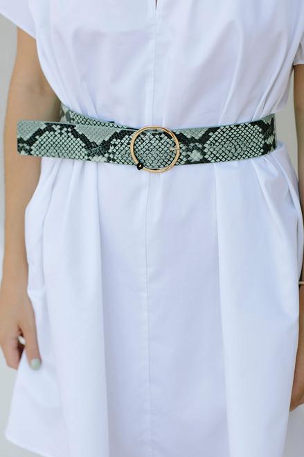 B-Low Belt Molly Python Detail