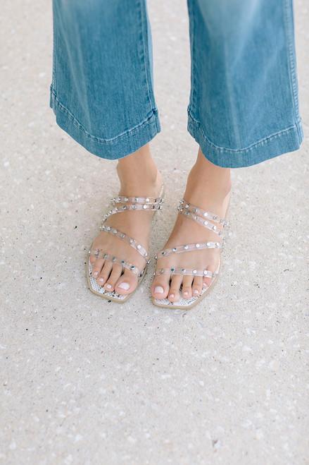 Dolce Vita Izabel Sandal Crystal Front
