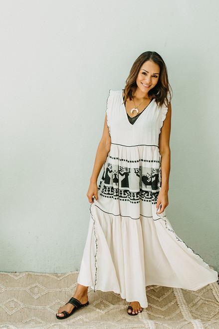 Devotion Athens Maxi Dress Front