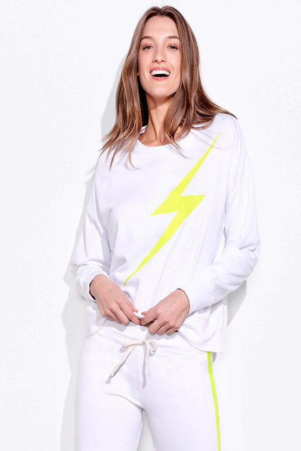 SUNDRY Bolt Oversize Sweatshirt Front View