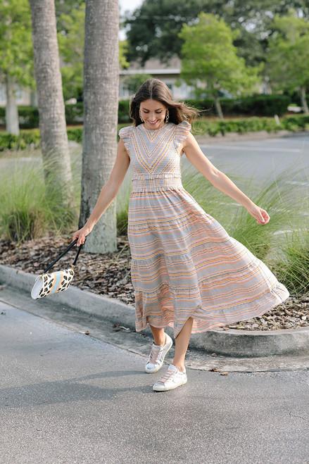 Saylor Alanna Dress Front View