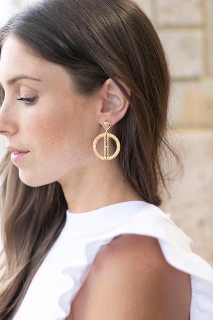 Sierra Winter Bluestem Earrings