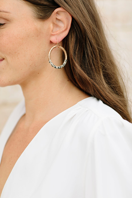 PT Sky Round Earing