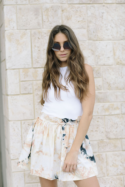 SWF Drawstring Mini Skirt
