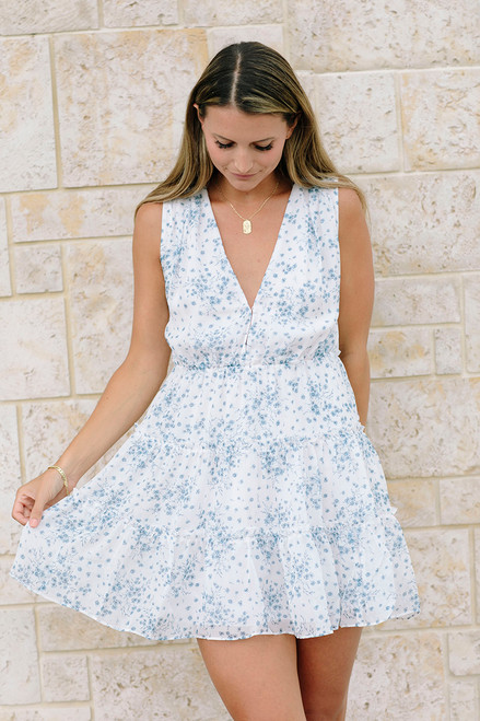 Cami NYC Egle Mini Dress Front View