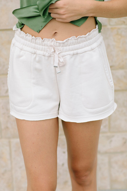 Cami NYC Lynley Pearl Short Front View