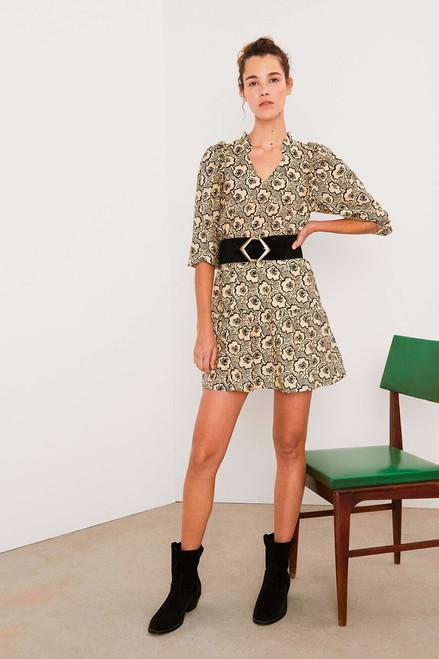Ba&sh Grazie Ruffle Dress Front view