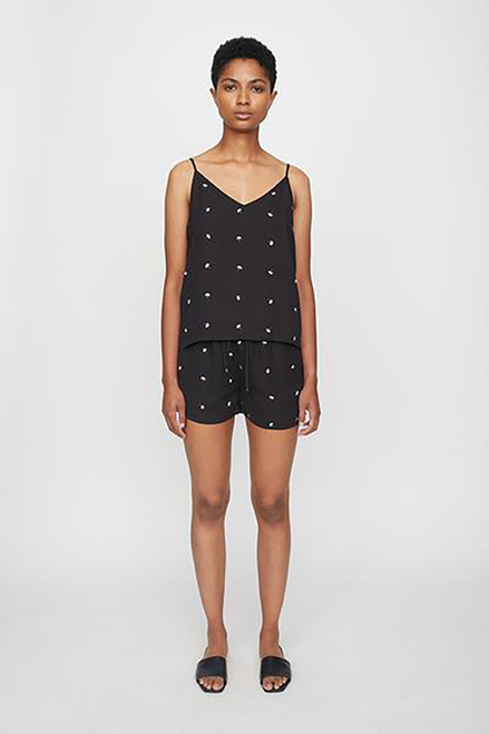 Just Female Same Singlet Top Front Model View
