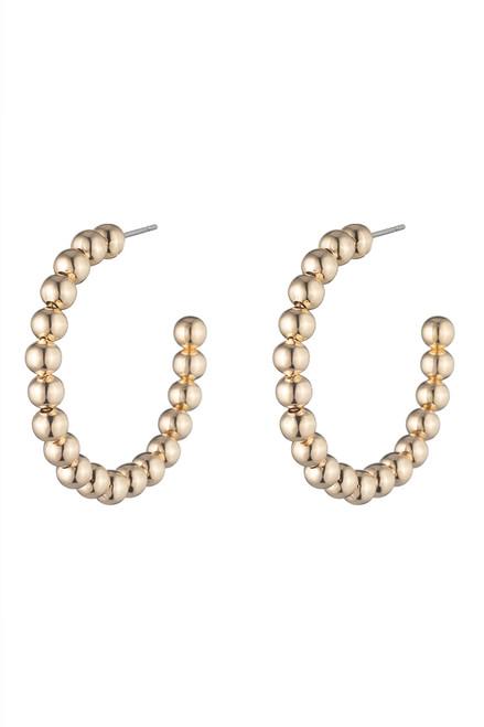 Dannijo Biscayne Hoop Earrings Ghost image