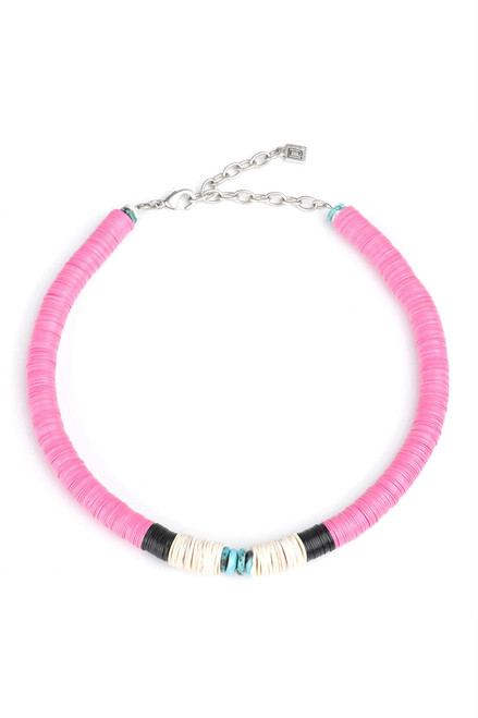 Dannijo Formentera Beaded Necklace Ghost image