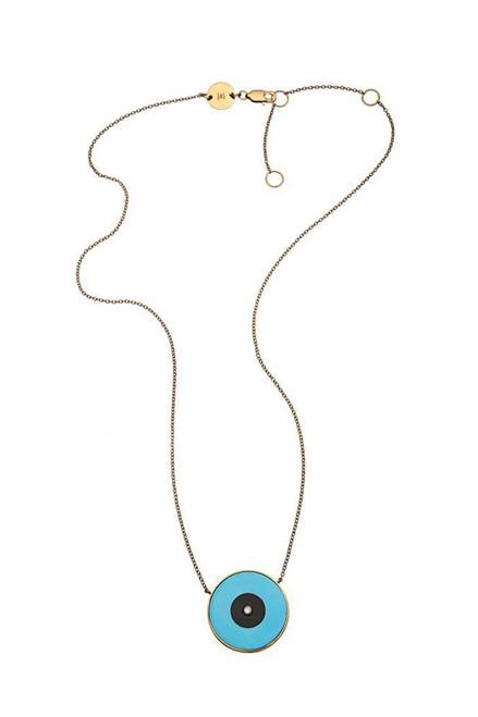 Jennifer Zeuner Danai Necklace Turquoise