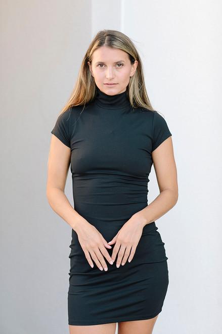 Susana Monaco Mock Mini Dress Front View