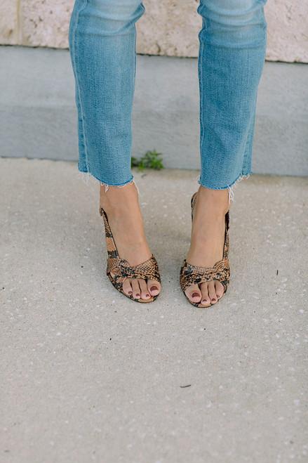 Ba&sh Carlita Sandals Front View