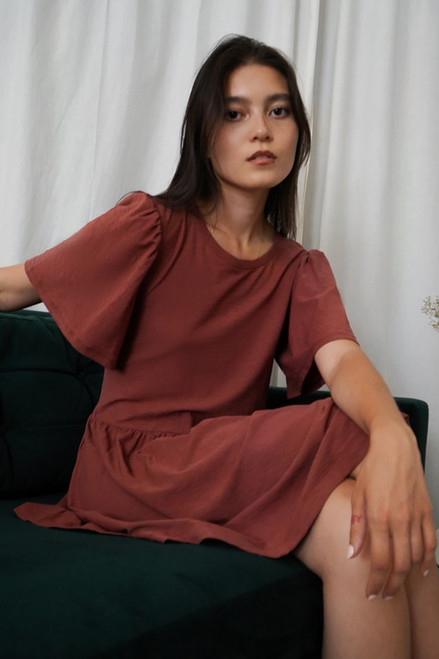Nation Cadee T-shirt Dress Model View