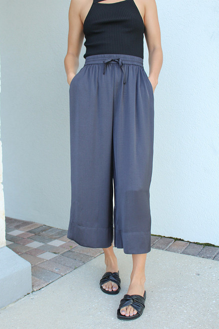 Just Female Wonder Wide Leg Pant Front View