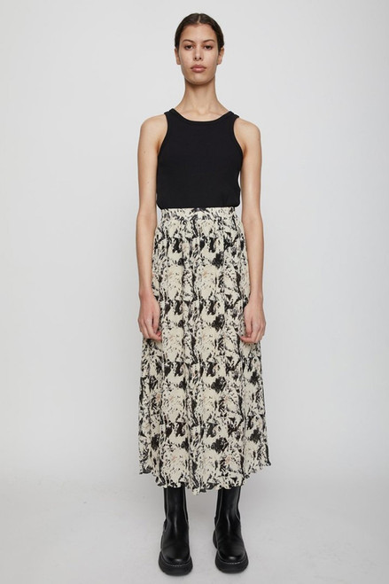 Just Female Misty Printed Maxi Skirt