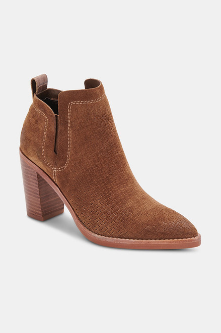 DOLCE VITA Sirano Suede Bootie Front View