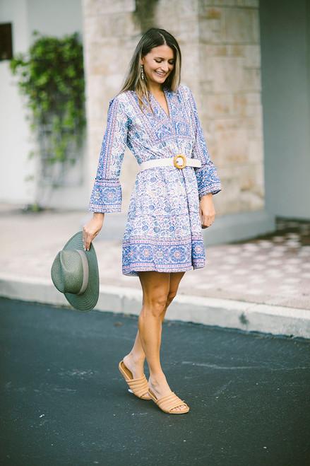 LOLA Morocco Mini Dress Front View