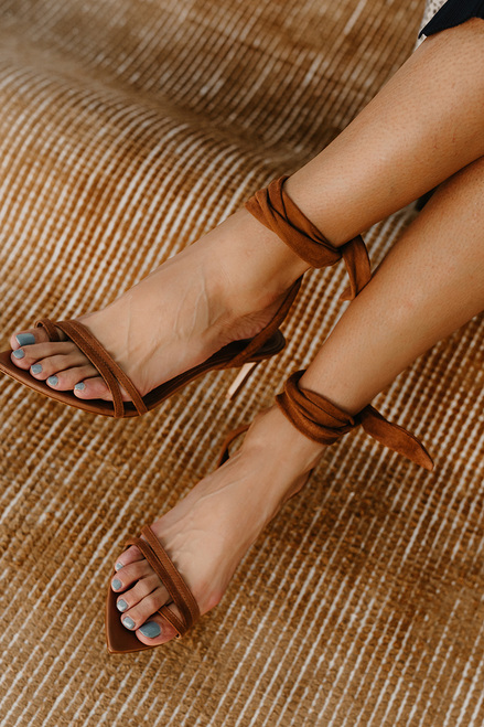 Schutz Barbrah Low Tie Heel