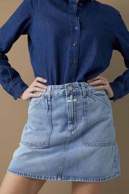 Closed Belmont  Denim Mini Skirt
