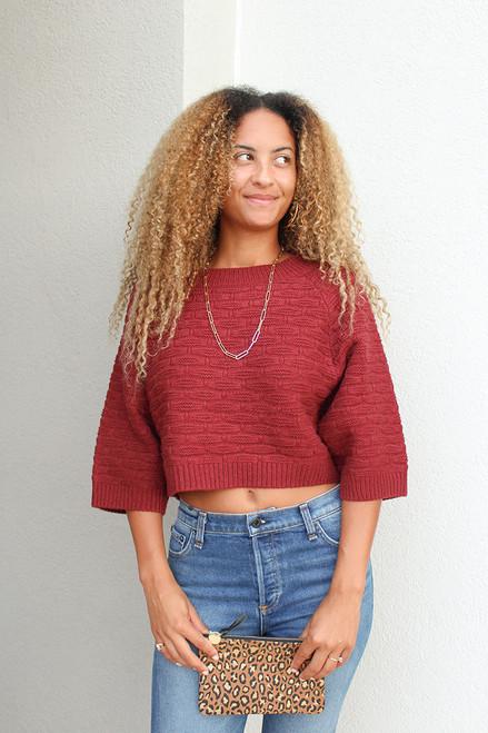 Caballero Kendrix Crop Sweater