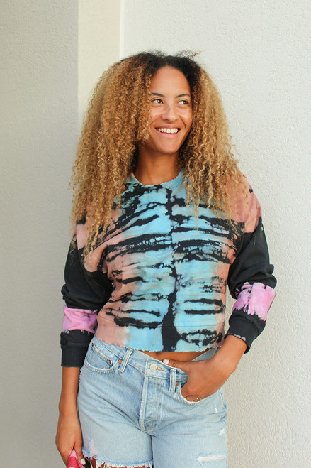 Noam Caria Braided Cutout Sweatshirt
