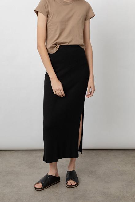 Rails Angie Midi Skirt in Black
