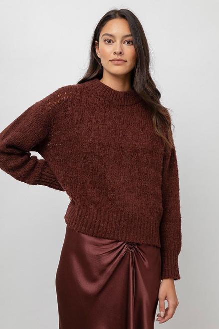 Rails Reagan Cozy Sweater in Raisin