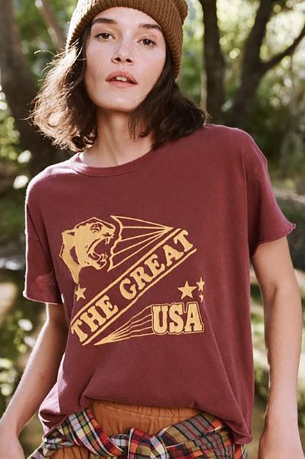 The Great Crop Cougar Tee
