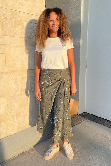 BA&SH Mopera Midi Skirt