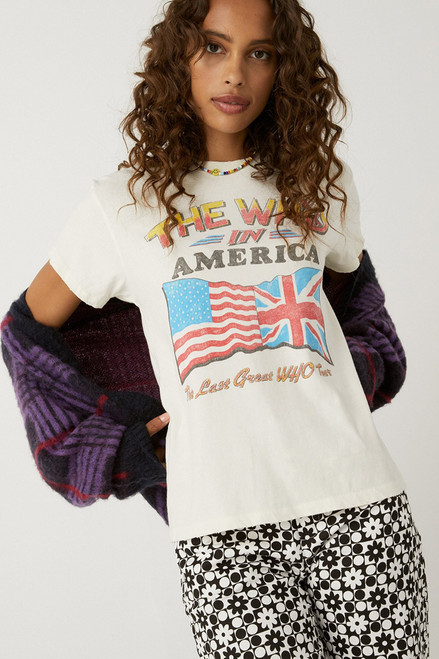 Daydreamer The Who Invades America Tour Tee Front View