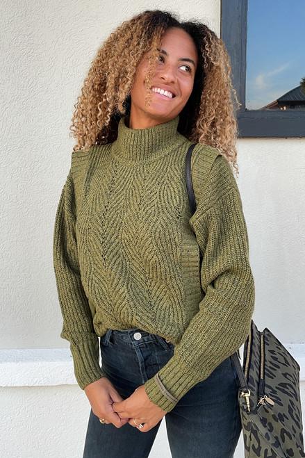 Scotch & Soda Ribbed Layered Sweater