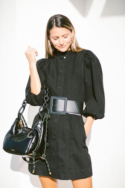 Essentiel Addle Denim Mini Dress