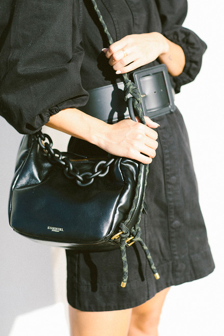 Essentiel Aline Medium Shoulder Bag Detail shot