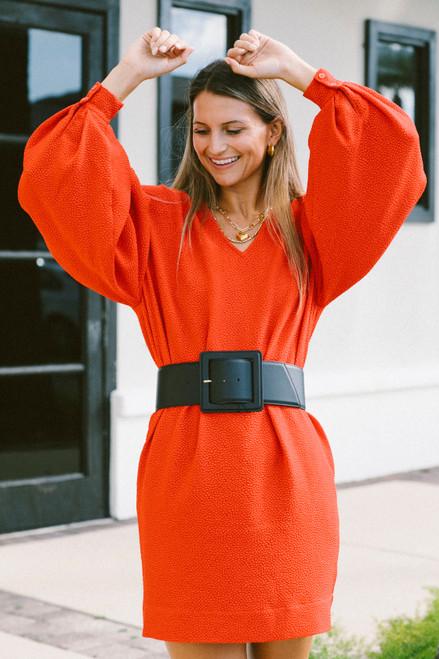 Essentiel Angele Leather Big Belt
